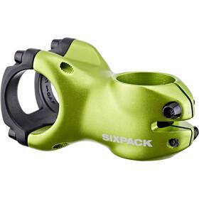 Sixpack Menace Stuurpen Ø31,8mm, groen/zwart